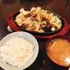 よかろうもん - 料理写真:ホルモン焼き+中ライス+味噌