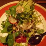 ねじ式 - 鮪とアボガドの山葵タルタルのサラダ