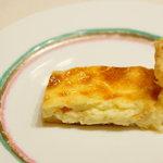 Trattoria Serena - アプリコットのパイ