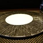 レストラン ラ・フロレゾン・ドゥ・タケウチ - 飾り皿