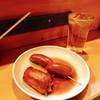 博多のおでん - 料理写真:餃子巻き&ウィンナーしゃんにシュワシュワたい♫