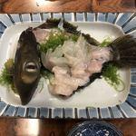 鮨大吉 - 皮はぎのお造り【平成31年01月30日撮影】