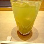 101023953 - イニシャル緑茶割り。薄いかなー