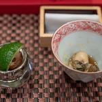 照寿司 - 2019.1 玄界灘赤ナマコ、地物の牡蠣