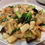 清香園 - 五目焼きそば タップリです