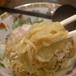 にんにくラーメン天洋 - 油そば 麺リフト