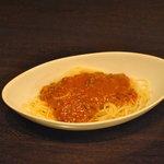 カフェ&バー アルファ - ミートソーススパゲティ