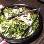 北新地 個室居酒屋 酒と和みと肉と野菜 - 野菜のチキンサラダ