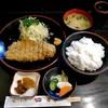 とんかつ 力亭 - 料理写真:ロースかつ定食