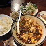 101034498 - ランチの麻婆豆腐セット