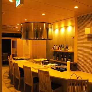 ◇全40席◇木の温もりある和空間は、接待・会食の利用にも
