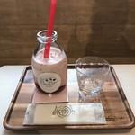BonBon BERRY cafe - ボンボンミルク 800円(税込)