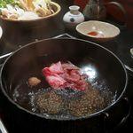 花大根 - 関東風、わりしたのすき焼き
