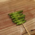 焼き鳥 平良 - 金針菜