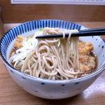 どん亭 - 天ぷらそばの蕎麦
