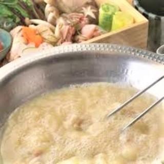 【鶏スープ】鳥ぼんち特製博多水炊き