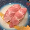 もり一 - 料理写真:「ばちとろシャリ少な目」150円