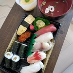 誠寿司 - Aランチ 750円