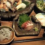 10105166 - 焼き魚ランチ1100円
