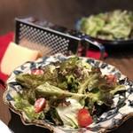 SAI.teppan - フレッシュリーフの削りたてパルメザンシーザーサラダ