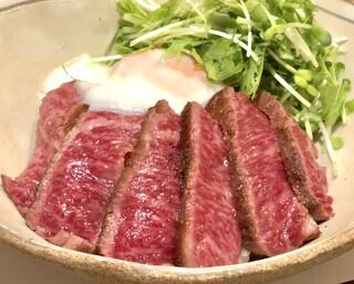 SAI.teppan - ランチタイム限定!黒毛和牛ステーキ丼