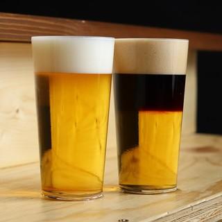 スタンダードなビールやオリジナルブレンドも
