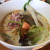 農村食堂 里のカフェ - 料理写真:豆乳鶏白湯うどん