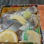Ekibenkafetakeshi - まさにあじ寿司!