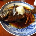 二本松 - 料理写真:煮魚定食 めじな