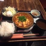 名物長崎芳寿豚と地場野菜 新町なみなみ - 日替り定食:900円