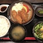 海辺下浦港 - カキフライ定食 850円