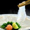 国産とらふぐ国産うなぎ料理 福乃城 - 料理写真:てっさ
