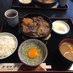 101066722 - すき焼き定食A