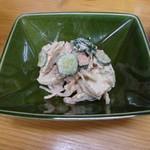 四ツ木製麺所 - 里芋ゴママヨサラダ