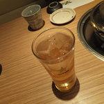 海鮮屋 鳥丈 - 梅酒ソーダ