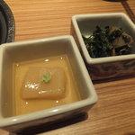 海鮮屋 鳥丈 - 季節の前菜 二段重