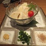 海鮮屋 鳥丈 - 柚子豆腐の冷奴(別注)