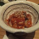 海鮮屋 鳥丈 - 明石蛸のタコキムチ(別注)