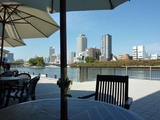 Green Cafe 川の駅 はちけんや店  - リバーサイドのカフェです