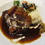 洋食 ジャンボ - ヒレ肉のビフカツ