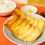宇都宮みんみん - 焼き餃子(2人前)+ライス (¥560)
