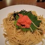SUI de vin - 別の日に食べた、明太高菜。普通に美味しいです。