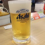 松屋 - 生ビール180円は小グラス