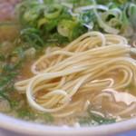 山さんラーメン - 麺