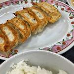 餃子の王将 - 選べるランチ(和風煮玉子ラーメン、餃子+ライス)