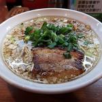 辛口炙り肉ソバ ひるドラ - 料理写真:炙り肉の濃口醤油らーめん 3杯目