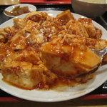 10108127 - 豆腐が大きい麻婆豆腐