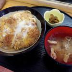 Ranchihausu - カツ丼(550円)
