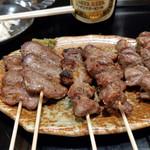 たれや 三代目 - 料理写真:タン・かしら・砂肝~☆