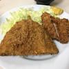 とんかつオオノ - 料理写真:ヒレアジフライ定食850円 アジフライ大きいです。